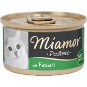 Miamor - Miamor Pastate Sülünlü Kedi Konservesi 85g