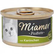 Miamor - Miamor Pastate Tavşanlı Kedi Konservesi 85g
