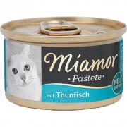 Miamor - Miamor Pastate Ton Balıklı Kedi Konservesi 85g