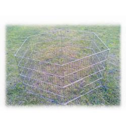 Tisert - Siyah Köpek Oyun Bahçesi(Çit) 75x70 cm