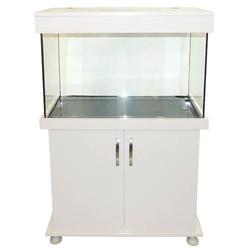 Fatih-Pet - Mobilyalı Akvaryum Beyaz 85x40x50 cm