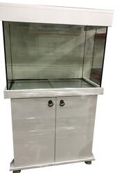 Fatih-Pet - Mobilyalı Akvaryum Beyaz 100x40x50 cm