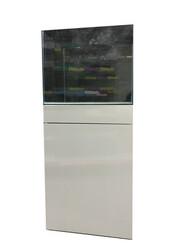 Fatih-Pet - Mobilyalı Akvaryum Beyaz 30x30x30 cm