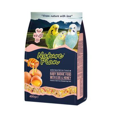 Nature Plan Ballı Yumurtalı Yavru Muhabbet Yemi 400 gr