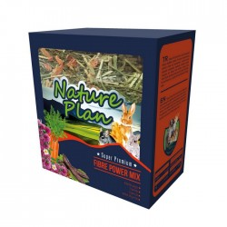 Nature Plan - Nature Plan Fibre Power Mix Kemirgen Yemi 700 gr