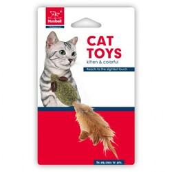 Nunbell - Nunbell Catnip Kedi Oyuncağı Fare Tüylü