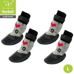 Nunbell - Nunbell Kaydırmaz Çorap L Boy