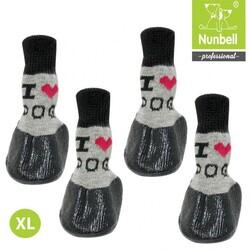 Nunbell - Nunbell Kaydırmaz Çorap XL Boy