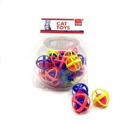 Nunbell - Nunbell Kedi Oyuncağı Büyük Kafes Top