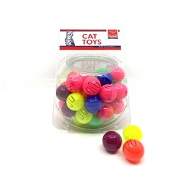 Nunbell - Nunbell Kedi Oyuncağı Desenli Top
