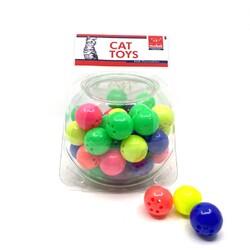Nunbell - Nunbell Kedi Oyuncağı Noktalı Top