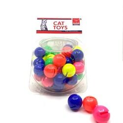 Nunbell - Nunbell Kedi Oyuncağı Zilli Top
