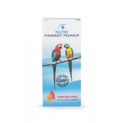 Yemcim - Nutri Parrot Power 50ml Papağan Vitamin Takviyesi