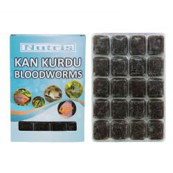 Nutris - Nutris Frozen Bloodworms - Dondurulmuş Kan Kurdu 100g
