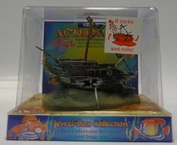 Veny's - O-90 Akvaryum Dekoru-Sallanan Batık Gemi