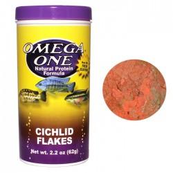 Omega One - Omega One Cichlid Flake 62g