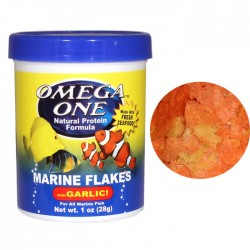 Omega One - Omega One Marine Flakes With Garlic Pul Yem 28g