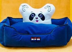 Little Friends - Panda Kafalı Yatak