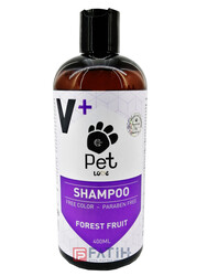 Pet Love - Pet Love V+ Orman Meyveli Şampuan 400ml