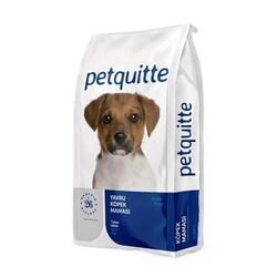 Petquitte - Petquitte Kuzu Etli Pirinçli Yavru Köpek Maması 3kg