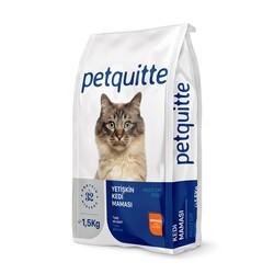 Petquitte - Petquitte Somonlu Yetişkin Kedi Maması 1,5 Kg