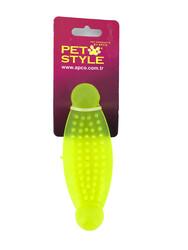 Pet Style - Plastik Uçları Yuvarlak Yumuşak Kemik