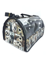 Little Friends - PopArt Şeffaf Fly Bag Taşıma Çantası
