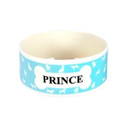 TVR - Prince Mavi Seramik Küçük Mama Kabı