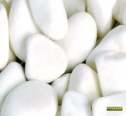 Vitasand - PRO-33 Beyaz Kalın Çakıl 15 mm 8,5 Kg