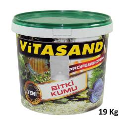 Vitasand - PRO-80 Kristal Beyaz Kuvars Kum 0,7 mm - 19 Kg (Kova)