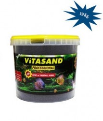 Vitasand - PRO-92 Kırmızı Bitki Kumu 2 mm - 20 Kg. (Kova)