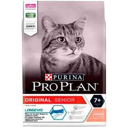 Pro Plan - ProPlan Senior Salmon Rice - Somonlu Yaşlı Kedi Maması 3Kg