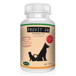PROFARM - Provit VM - Kedi ve Köpekler için Vitamin-Mineral Takviyesi 100g