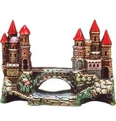 Güner Seramik - R-15 Köprülü Şato Akvaryum Dekoru