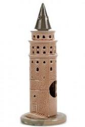 Güner Seramik - R-54-K Galata Kulesi Akvaryum Dekoru (Küçük)