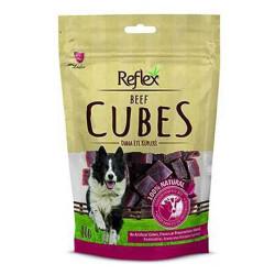Reflex - Reflex Beef Cubes - Dana Etli Küp Şeklinde Köpek Ödülü 80g