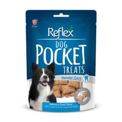 Reflex - Reflex Dog Pocket Dental Care - Ördekli Diş Sağlığı Köpek Ödülü 95g