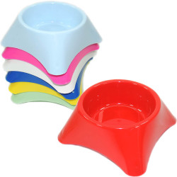 Fatih-Pet - Renkli Plastik Mama Kabı Small