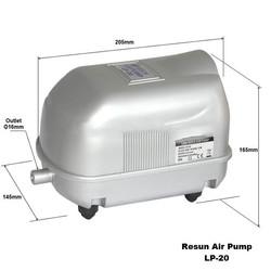 Resun - Resun LP20 Hava Komprösörü 17W - 1500L/H