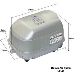 Resun - Resun LP40 Hava Komprösörü 35W - 3000L/H