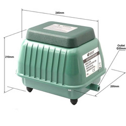 Resun - Resun LP60 Hava Komprösörü 50W - 4200L/H
