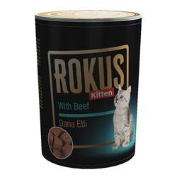 ROKUS - ROKUS Kitten Yavru Kedi Konserve Maması 410g