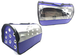 Little Friends - Sade Renklı Şeffaf Fly Bag Taşıma Çantası