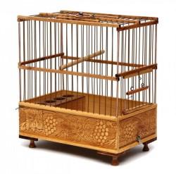 Fatih-Pet - Saka Kafesi Telli İşlemeli 17,5x29x30,5 cm