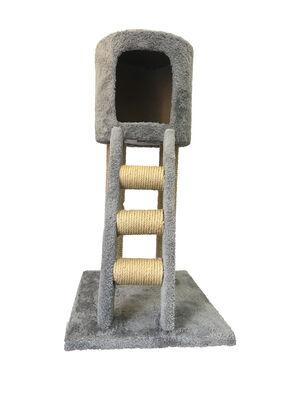 Silindir Merdivenli Kedi Evi