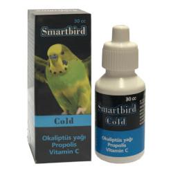 Smartbird - Smartbird Cold Kuş Soğuk Algınlığı Vitamin Takviyesi 30cc/6 lı