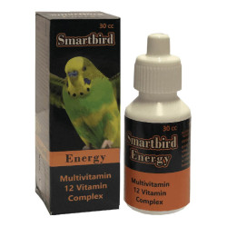 Smartbird - Smartbird Energy Kuş 12 Vitamin Takviyesi 30cc/6 lı