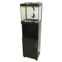 Fatih-Pet - Star Mini Mobilyalı Akvaryum Siyah 30 cm