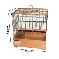 Fatih-Pet - Telli Saka Kafesi 17x28x31 cm