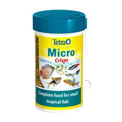 Tetra - Tetra Micro Crisps - Ekstra Küçük Tropikal Balık Yemi 39g/100 ml